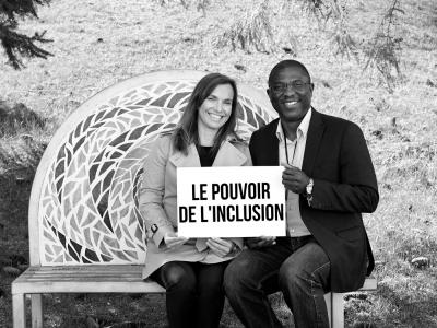 Lori-Ann Cyr with Cyriaque Kiti (Bénin+Togo)