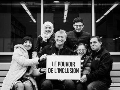 Yvon Lapierre with Ayman Kouk & Family (Syria)